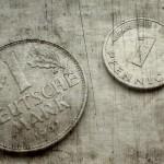 Die Deutsche Mark.