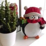 Der Weihnachts-Pinguin.